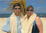 Jim and I on our honeymoon in Mexico March 2007