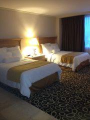 Hotel room at the Marriott in Tijuana