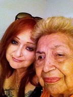 Me And My 84 year old Nana Labor Day 2013