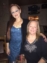 June 5th 2015 Threw a big bday party for my friend Patty here im with Sandy another friend